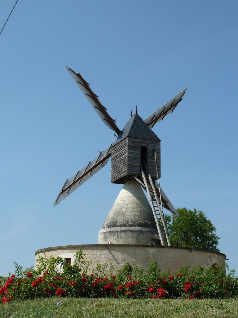 Random Windmill on Route to Chenonceau