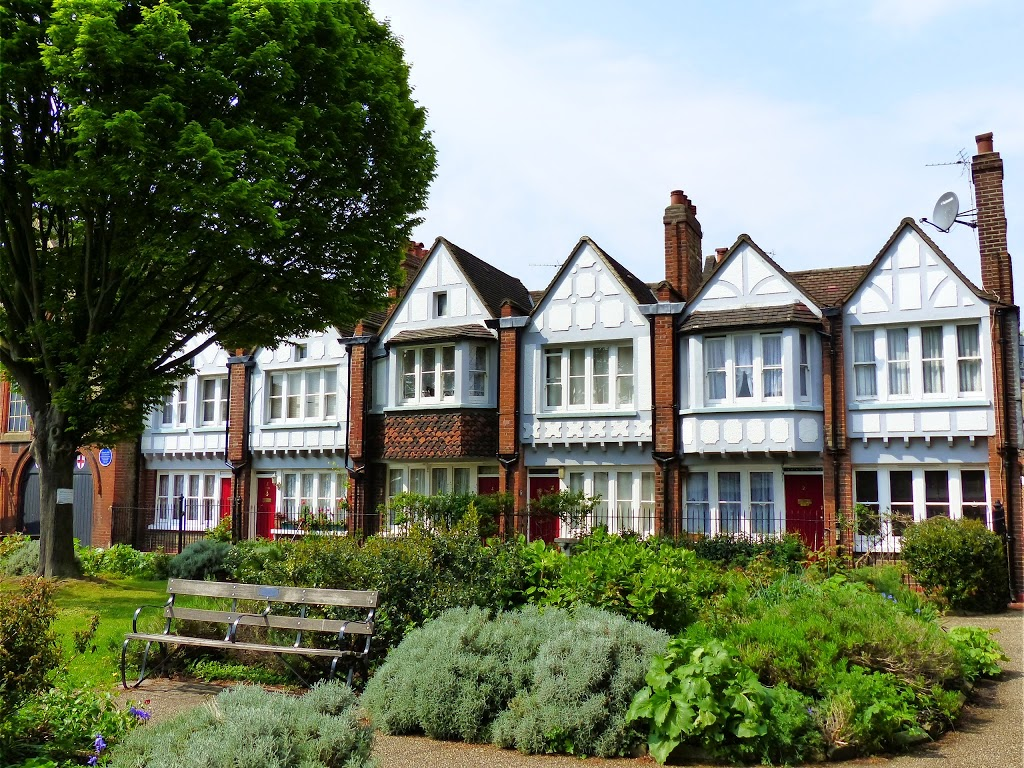 One of Octavia Hill's Housing Projects