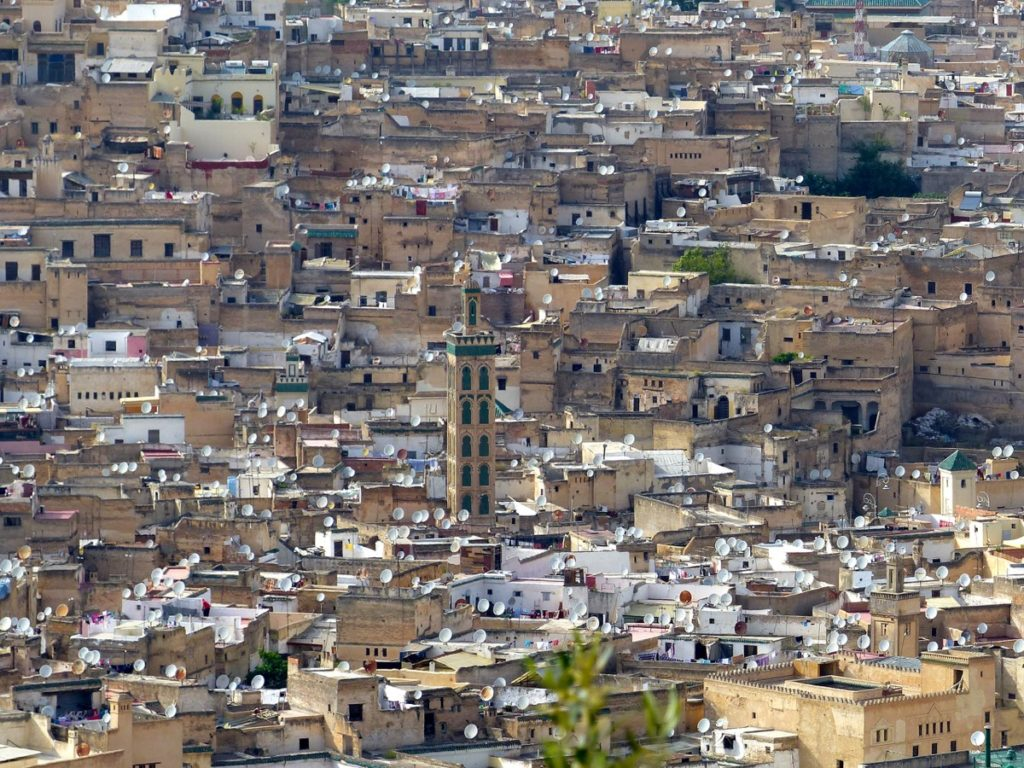 Fes Panorama from Borj South