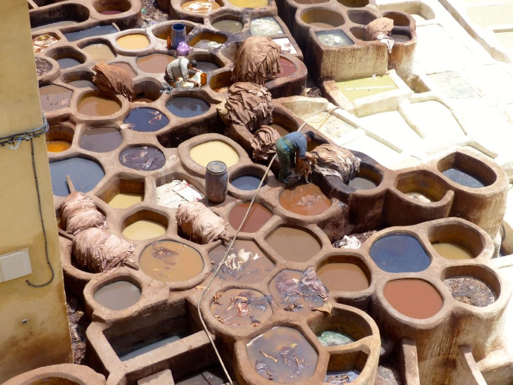 Fes - Tannery